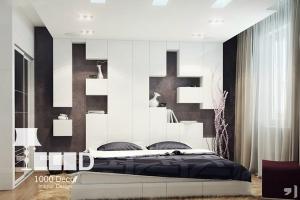 bedroom decoration19 300x200 دکوراسیون اتاق خواب