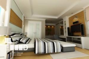 bedroom decoration6 300x200 دکوراسیون اتاق خواب
