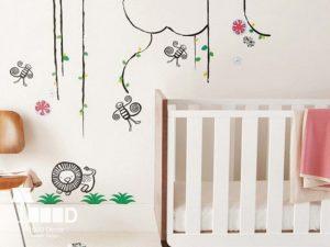 childroom decoration1 1 300x225 دکوراسیون اتاق کودک