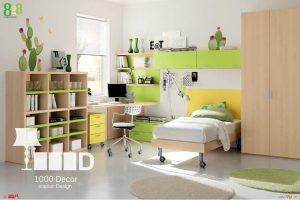 childroom decoration14 300x200 دکوراسیون اتاق کودک