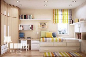 childroom decoration2 300x200 دکوراسیون اتاق کودک