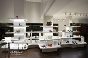 dentistry decoration11 300x200 دکوراسیون فروشگاه کیف و کفش