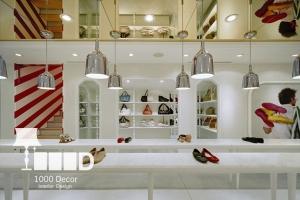 dentistry decoration14 300x200 دکوراسیون فروشگاه کیف و کفش
