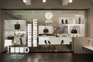dentistry decoration15 300x200 دکوراسیون فروشگاه کیف و کفش