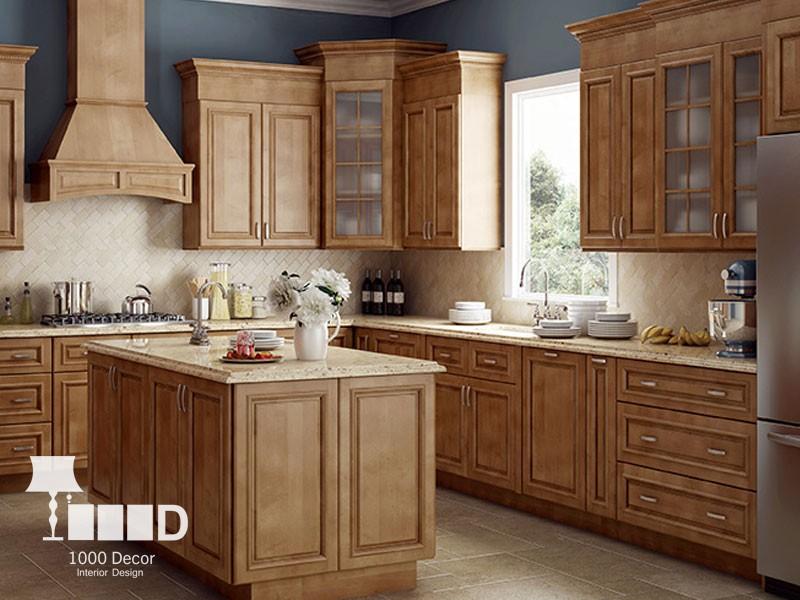 wooden cabinet2 تمام چوب