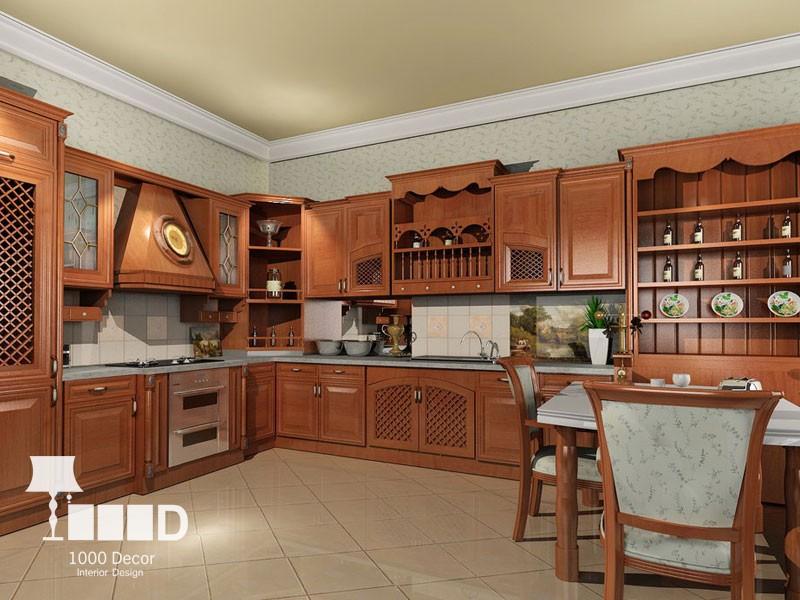 wooden cabinet5 تمام چوب