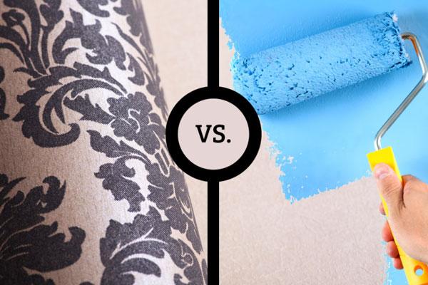 paint or wallpaper رنگ یا کاغذ دیواری؟