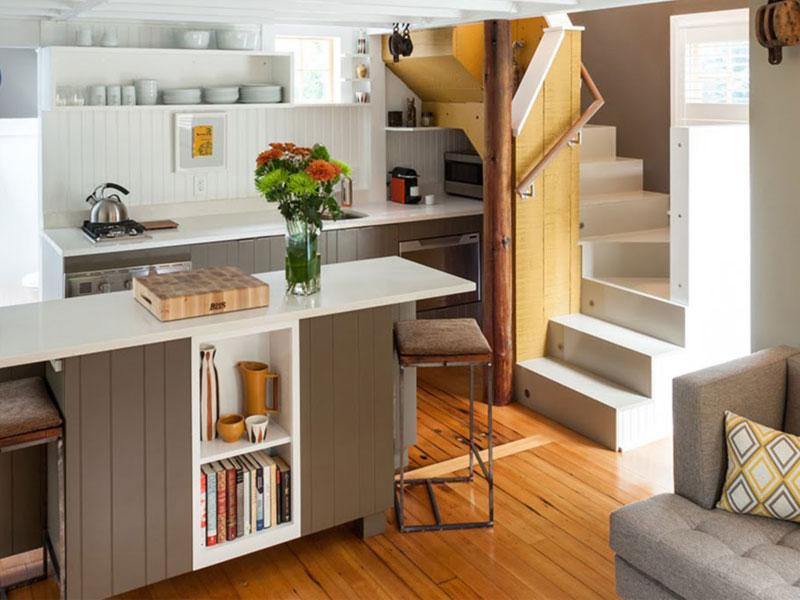 layout of a small home decorations 1 چیدمان دکوراسیون در خانه های کوچک
