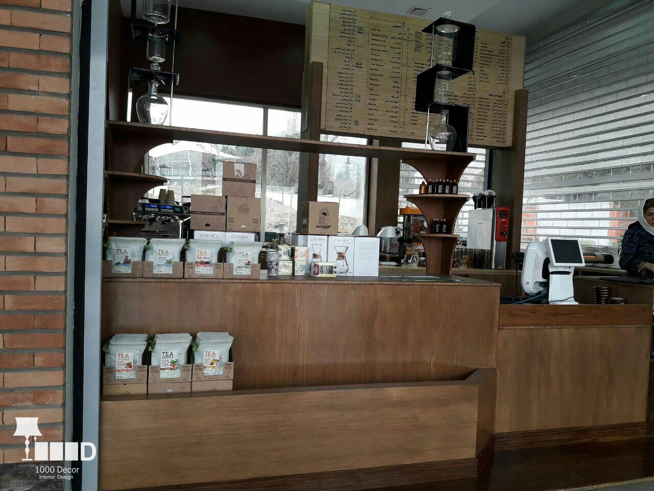 enghelab cafe14 پروژه های اجرایی