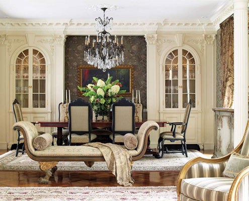 style of Western aesthetics in the interior decoration 5 Home