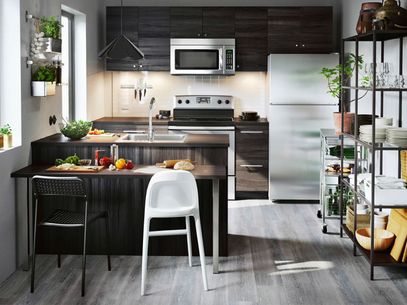 how to layout and decoration in the kitchen 1 1 نحوه چیدمان دکوراسیون در آشپزخانه