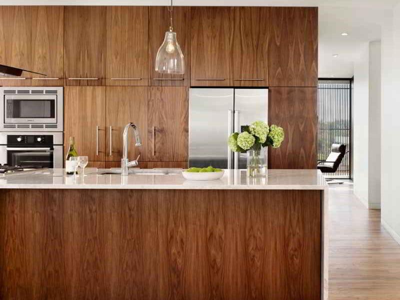 opening closure types in kitchen cabinets 1 انواع بازشونده در کابینت آشپزخانه