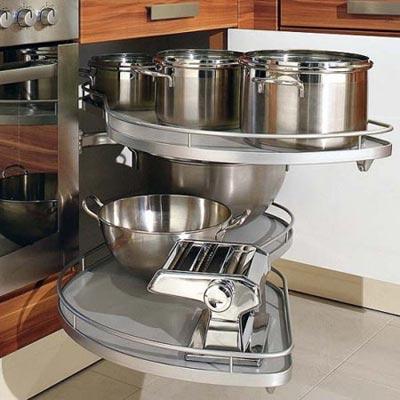 opening closure types in kitchen cabinets انواع بازشونده در کابینت آشپزخانه