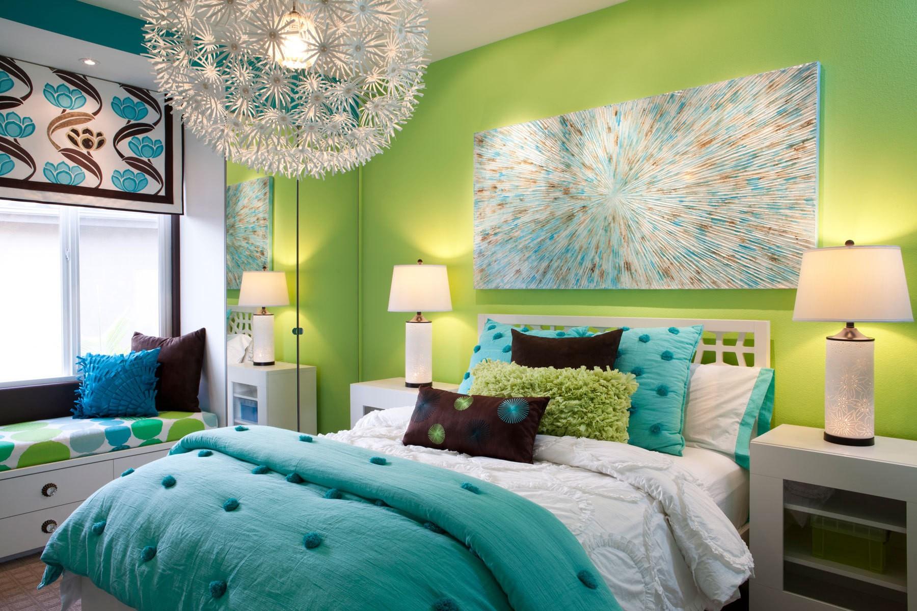 miracle green blue decoration 2 معجزه رنگ سبز آبی در دکوراسیون