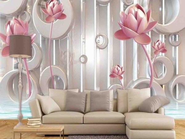3d wallpaper 1 کاغذ دیواری سه بعدی