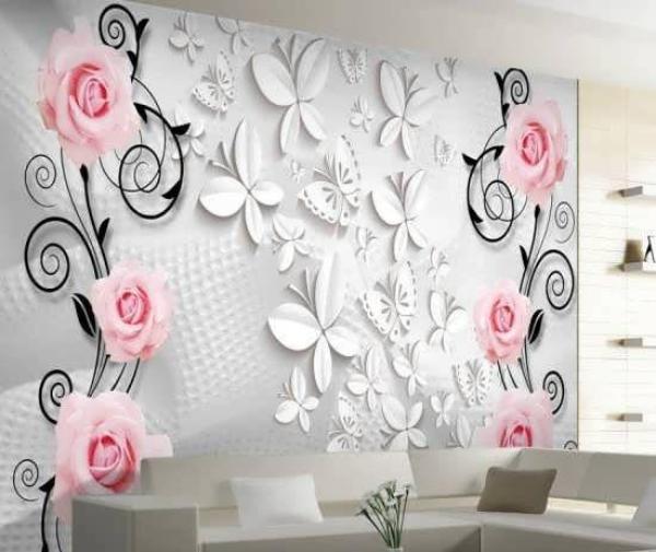3d wallpaper 4 کاغذ دیواری سه بعدی