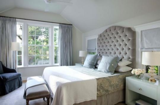 choosing the ideal dramatic headboard for your bedroom1 540x354 دکور بالای تختخواب