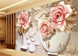 wholesale custom 3d wallpaper murals 3d flower 4 260x185 مطالب دکوراسیون