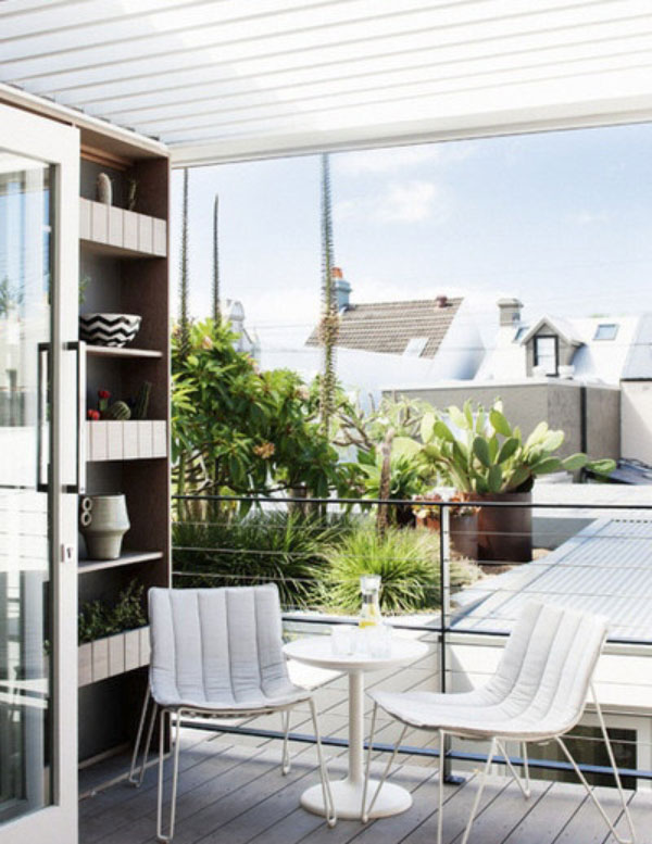 patio3 طراحی تراس و بالکن کوچک با 6 ایده خنک تابستانی!