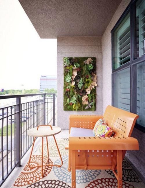 patio4 طراحی تراس و بالکن کوچک با 6 ایده خنک تابستانی!