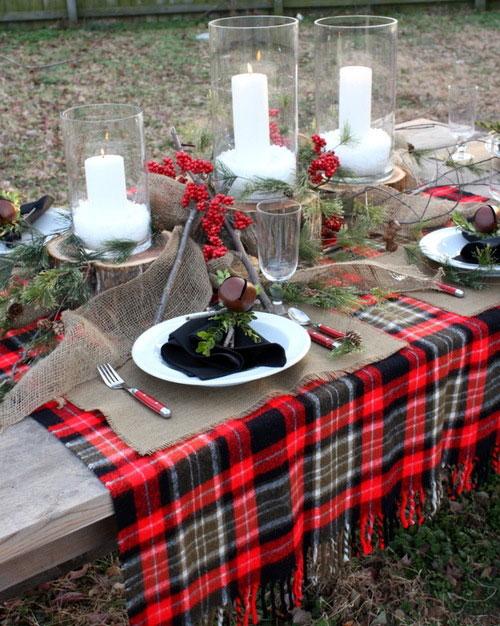 traditional dining room2 5 رومیزی ایده آل برای میز های غذاخوری
