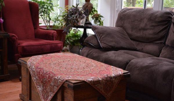 traditional dining room3 5 رومیزی ایده آل برای میز های غذاخوری