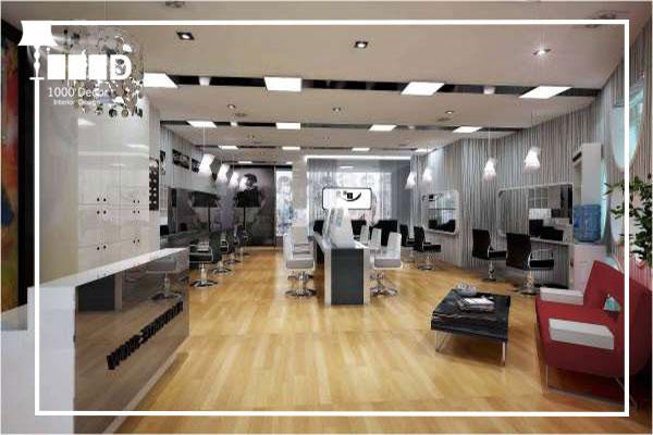 1000decor Barbershop 04 دکوراسیون آرایشگاه مردانه