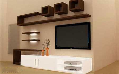 tv decoration5 انواع دکوراسیون دیوار پشت تلویزیون LCD و LED سنگ و کناف