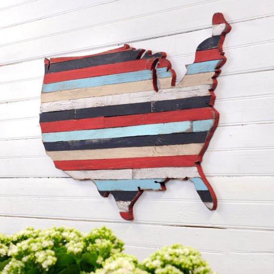 map of america wood decoration for sale 600x600 دکوری چوبی بر روی دیوار