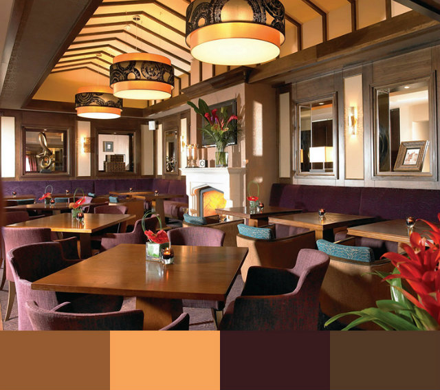What color is suitable for the decoration of the restaurant 2 چه رنگی برای دکوراسیون رستوران مناسب است؟