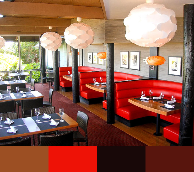 What color is suitable for the decoration of the restaurant 3 چه رنگی برای دکوراسیون رستوران مناسب است؟