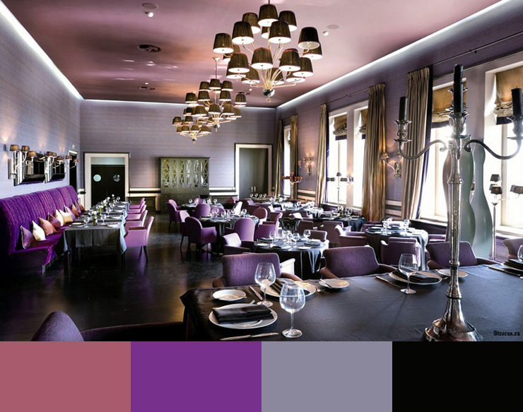 What color is suitable for the decoration of the restaurant 4 چه رنگی برای دکوراسیون رستوران مناسب است؟