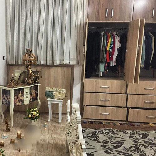 aroos5 چیدمان و تزیین اتاق خواب عروس
