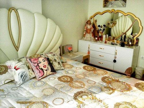 aroos8 چیدمان و تزیین اتاق خواب عروس