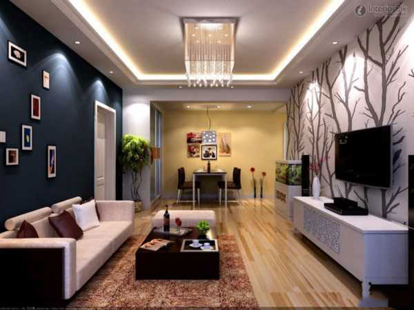 noor1 نورپردازی سقف و دیوار در اتاق پذیرایی و نشینمن