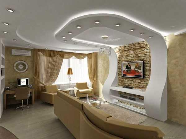 noor4 نورپردازی سقف و دیوار در اتاق پذیرایی و نشینمن
