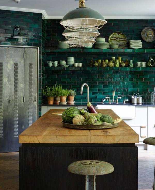 decorate the kitchen2 گلدان های زیبا برای تزیین آشپزخانه