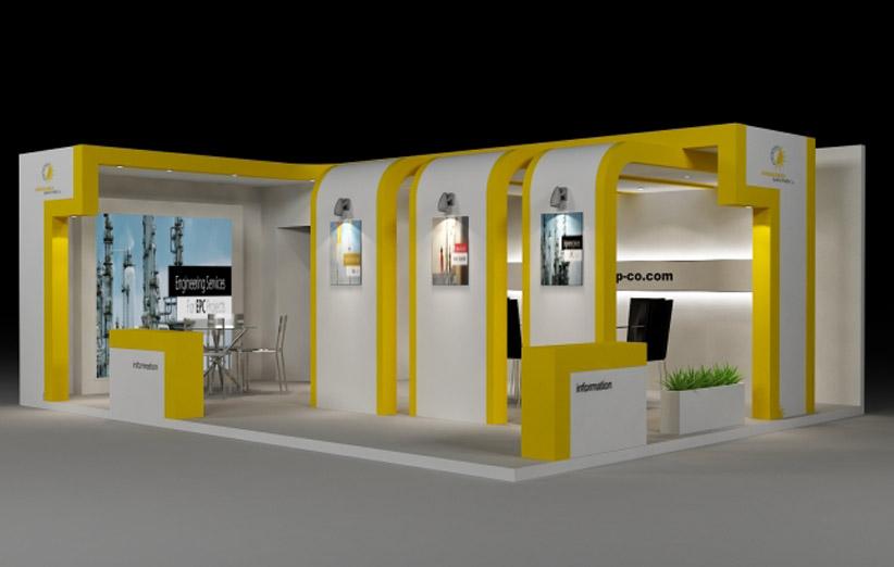 exhibition stand 10 نکته مهم در طراحی غرفه نمایشگاهی