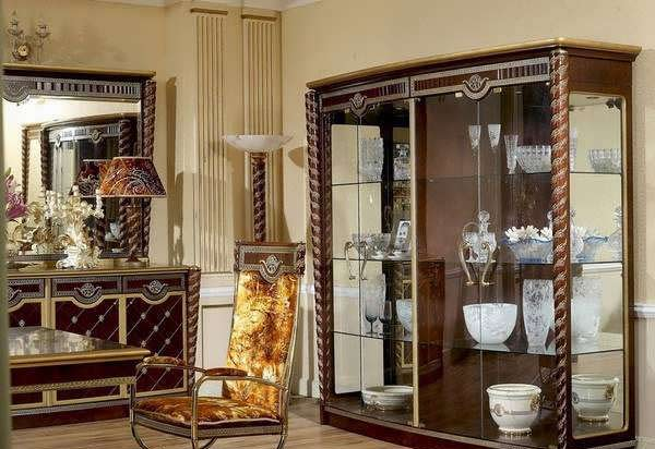 Buffet shelf1 مدل بوفه دکوری چوبی و ام دی اف با طرح های مدرن