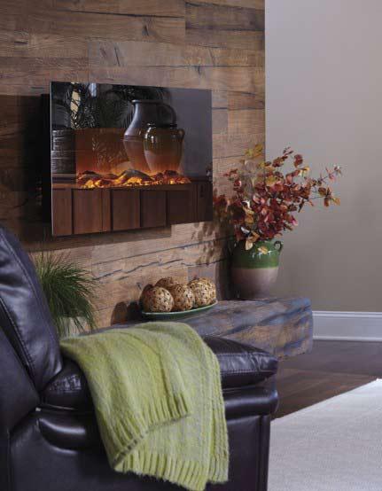 decorating the fireplace1 تزیین شومینه با دکوری های زیبا و پاییزی