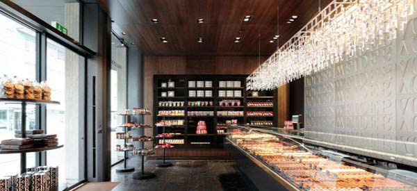 pastry shop1 ایده هایی برای طراحی دکوراسیون داخلی مغازه قنادی