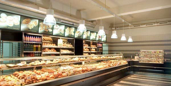 pastry shop3 ایده هایی برای طراحی دکوراسیون داخلی مغازه قنادی