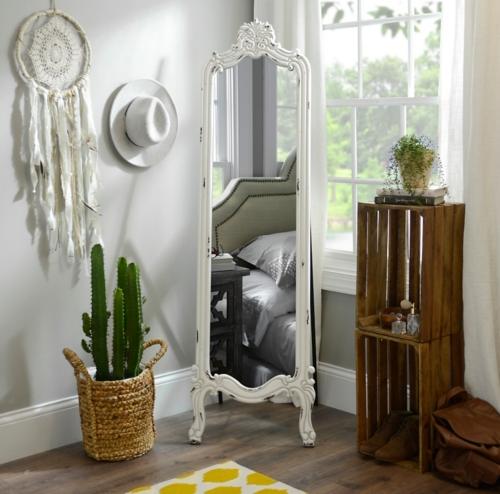 mirrors in decoration 1 آیینه های قدی در دکوراسیون