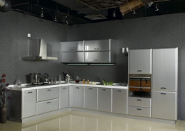 MDF or metal kitchen cabinets 1 260x185 مطالب دکوراسیون