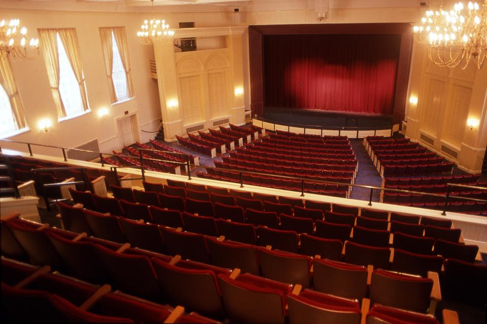 Theater Hall Design 1 طراحي سالن تئاتر