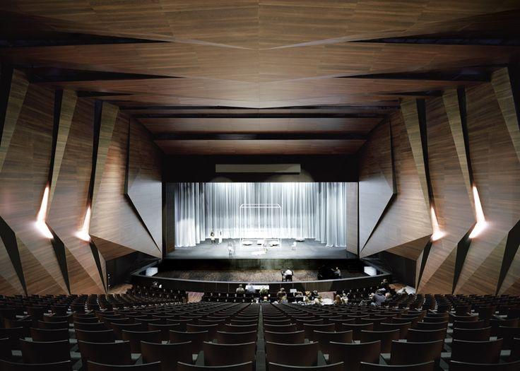 Theater Hall Design 2 طراحي سالن تئاتر