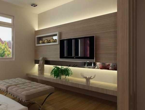 lcd6 دکوراسیون دیوار ال سی دی چوبی و کناف