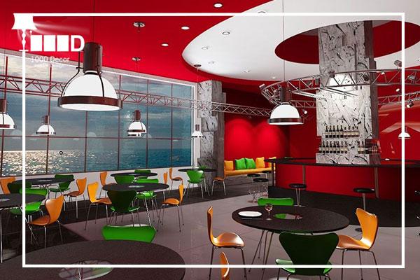 1000decor Cafe and Restaurant Decor No 18 ✔خلاقیت و نوآوری در دکور کافه و رستوران(5 ایده جدید)