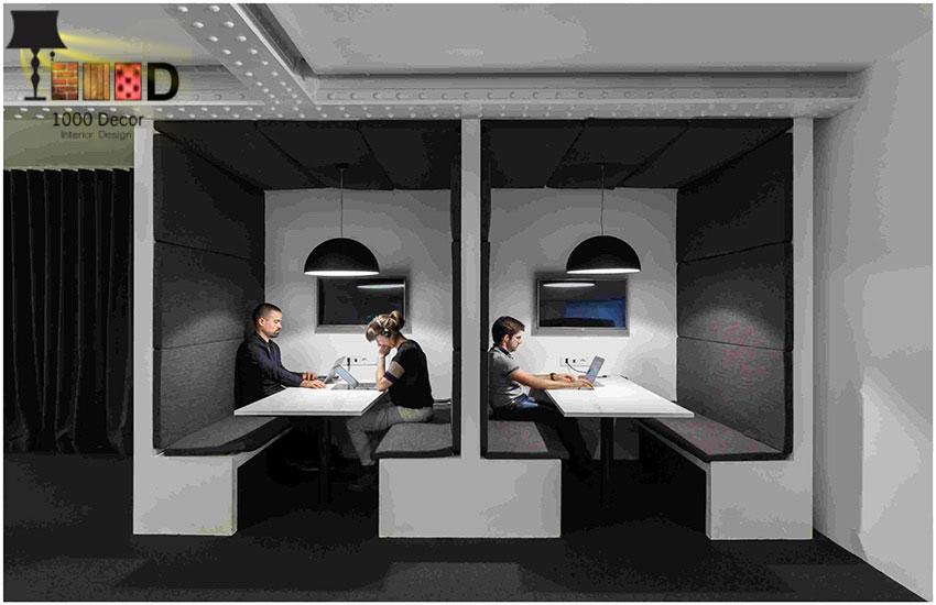 1000decor Decoration design No 13 اجرای دکوراسیون اداری ، تحولی در محل کار شما