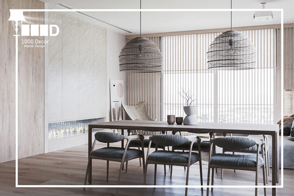 1000decor Decoration design home 3 طراحی دکوراسیون (7 اصل مهم در سال 2019)